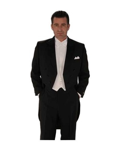 Kjolesæt inkl. skjorte, vest og sløjfe