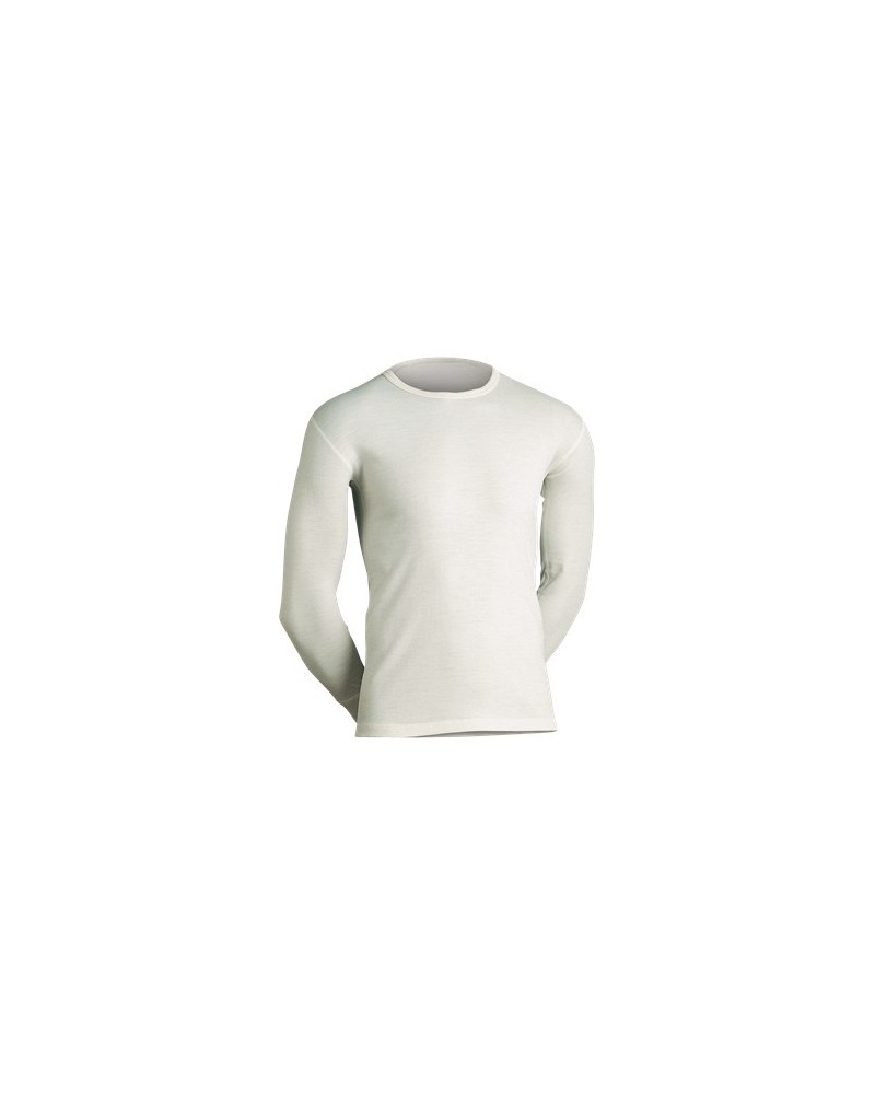 JBS-Classic - undertrøje m lange ærmer-uld-raahvid