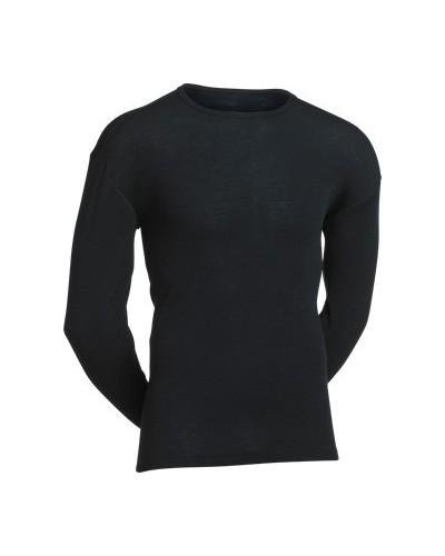 JBS-Classic - undertrøje m lange ærmer-uld-sort