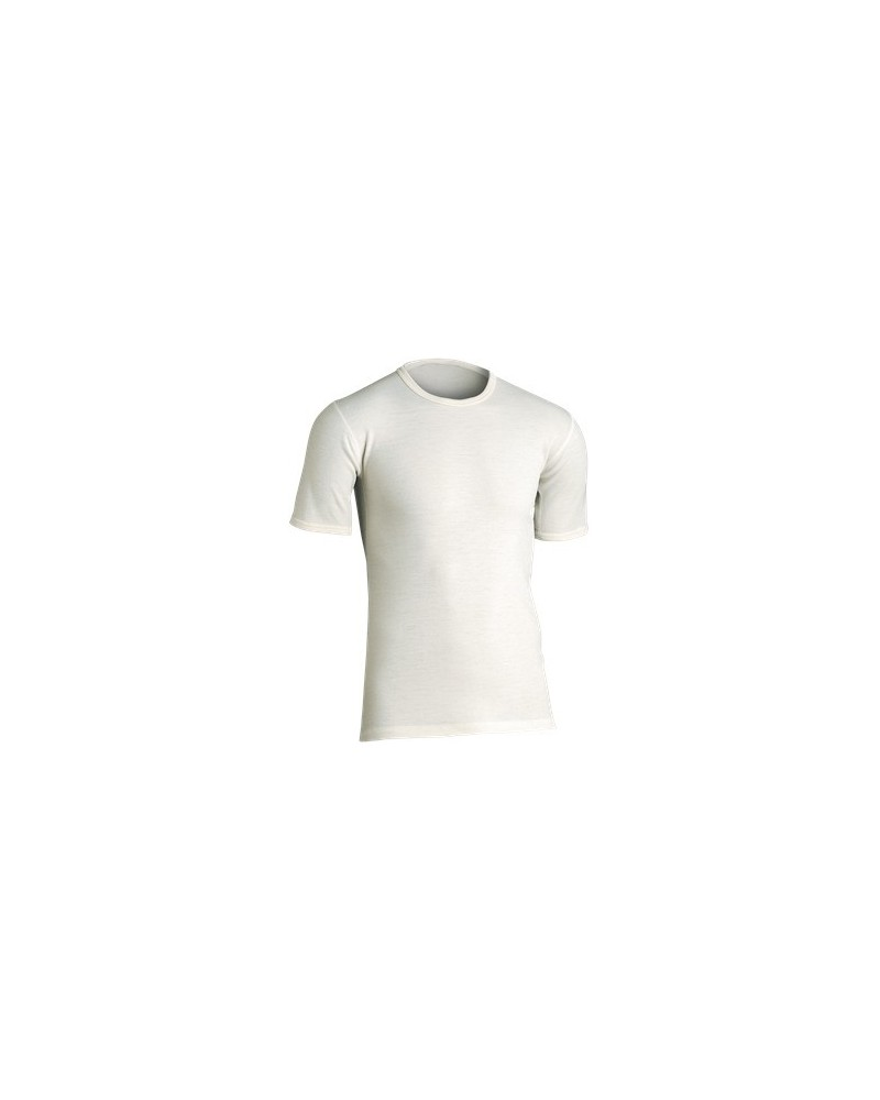 JBS-Classic - undertrøje m korte ærmer-uld-raahvid