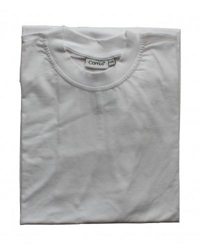 Hvid t-shirt m. o-hals fra Camus