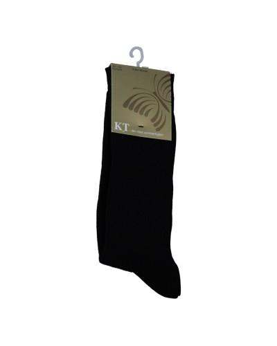 KT Strømpe  uden elastik sort